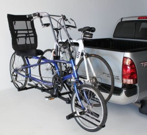 recumbent bike carrier image